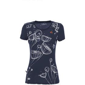 E9 Spring T-Shirt Women, blauw